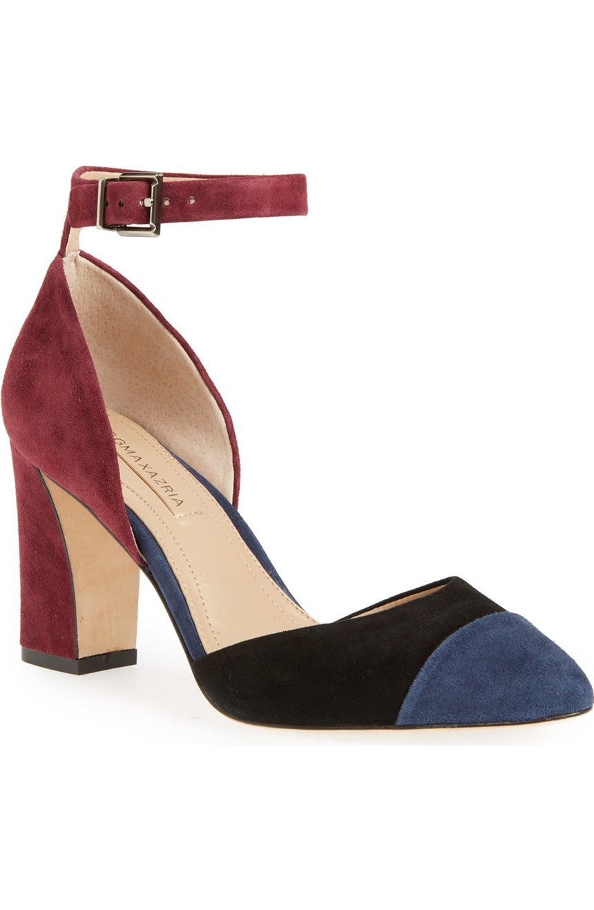 BCBGMAXAZRIA  'Billee' Colorblock Pump. Available in multiple color combinations. Nordstrom. Now: $166. Will be: $249.