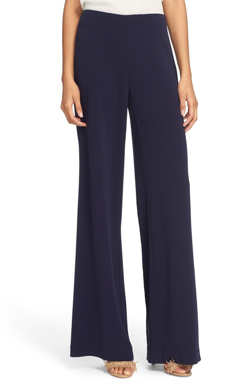 Diane von Furstenberg  'Preston' Wide Leg Crepe Pants. Nordstrom. Now: $229. Will be: $348.