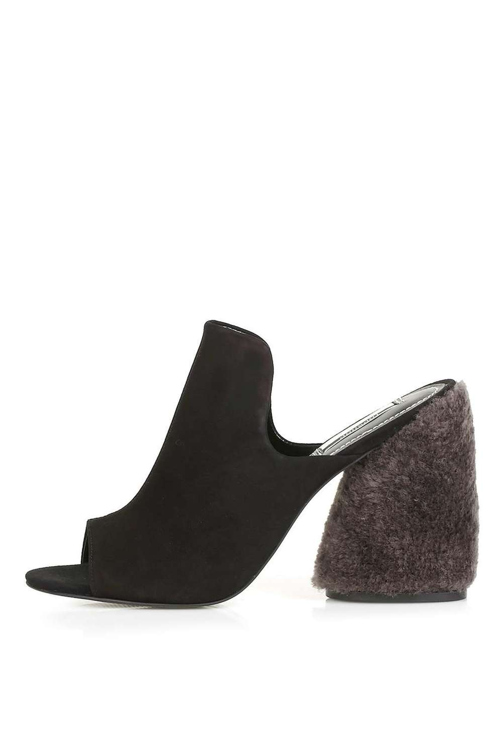PERSIA Limited Edition High Shearling Mules. Available in multiple colors. Topshop. $160.