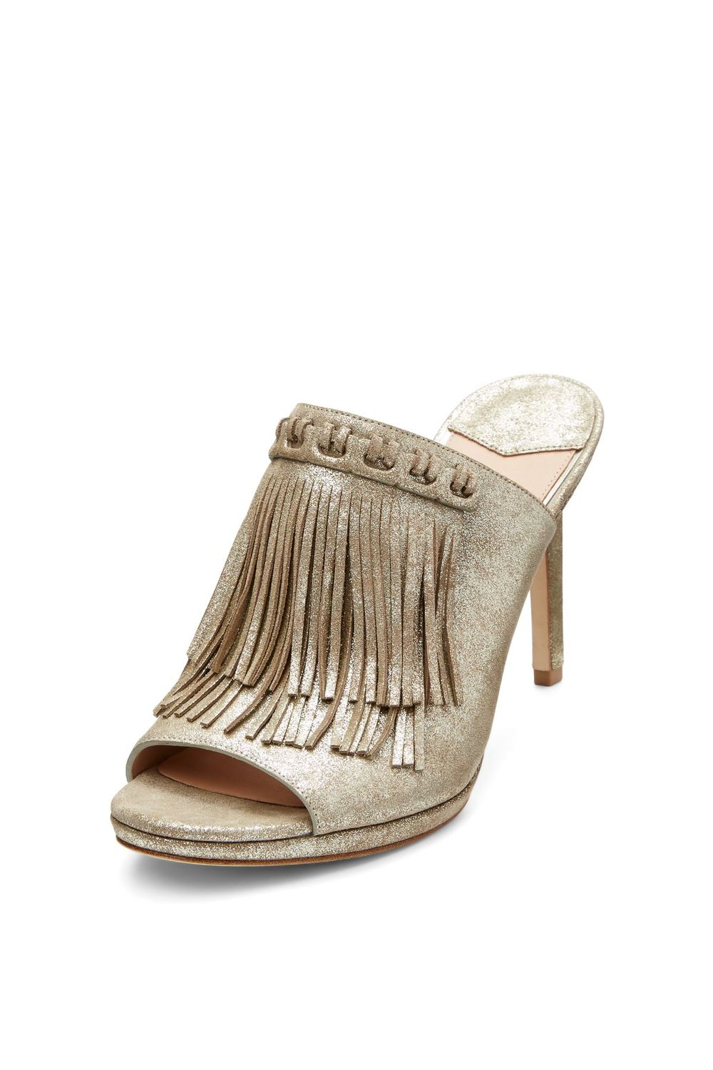 DVF Langley Fringed Mule. DVF. $378.
