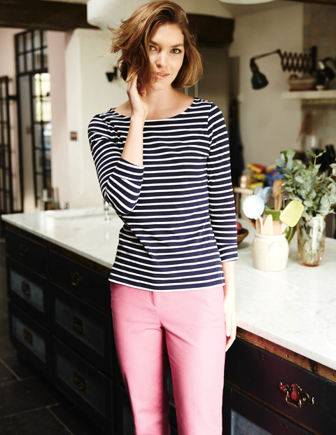 No horses here, but worth a share. Long Sleeve Breton. Available in multiple colors. Boden. $38.