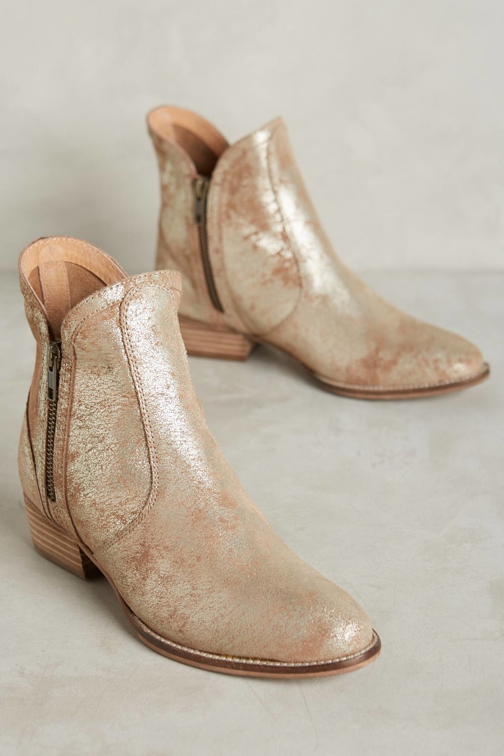 Seychelles Lucky Penny Booties. Available in three colors. Anthropologie. $140-148.