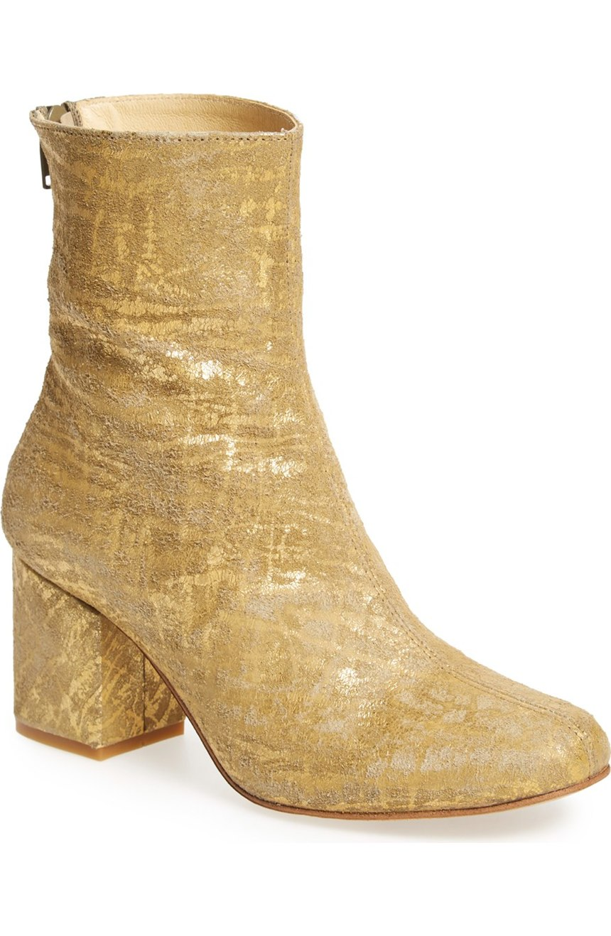 Free People'Cecile' Block Heel Bootie. Nordstrom. $168.