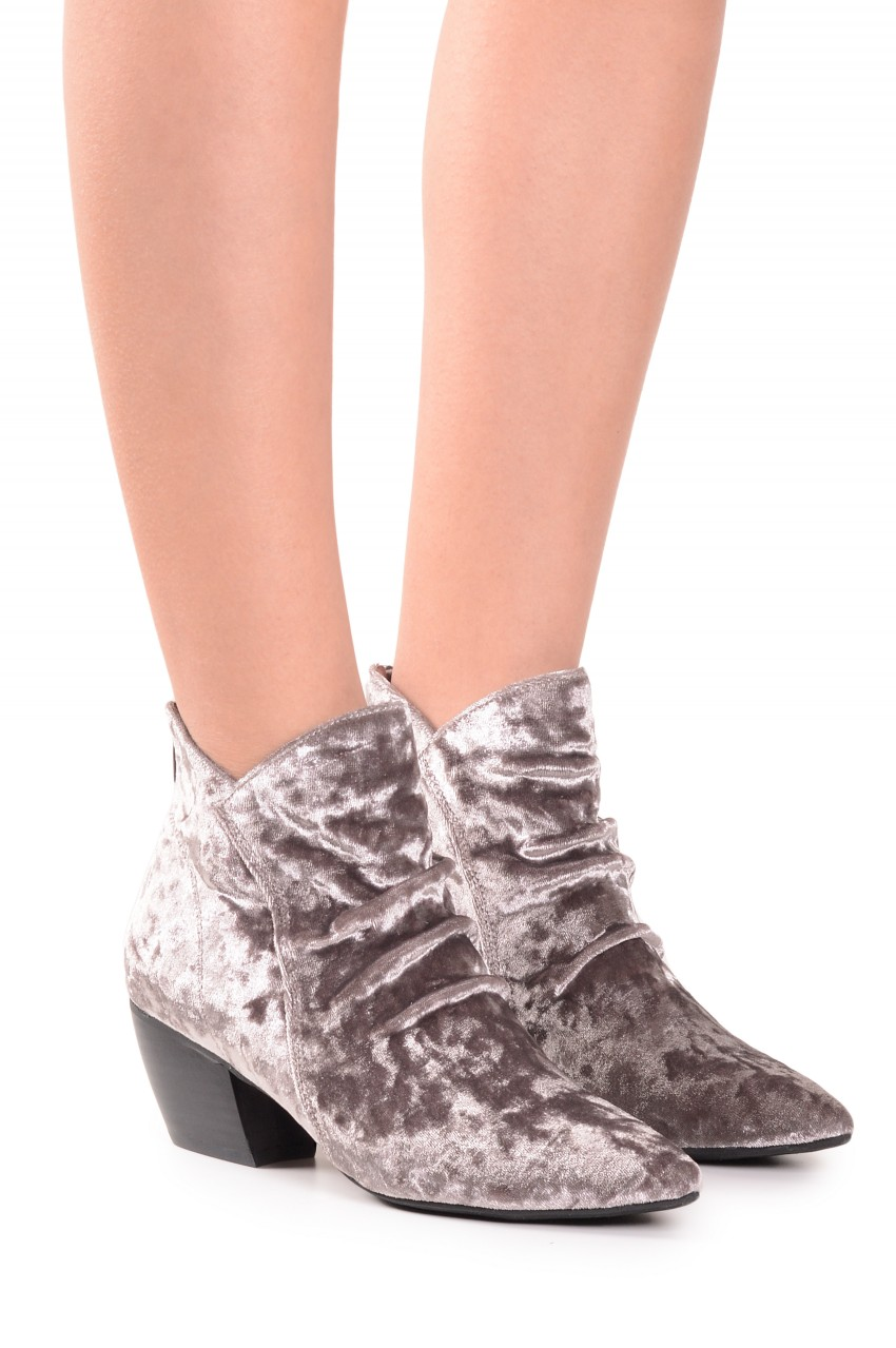 Jeffrey Campbell Franco Booties. (They are velvet!) Jeffrey Campbell. $130.