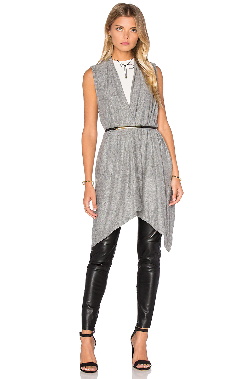 Michael Stars Draped Blanket Vest. Revolve Clothing. $118.
