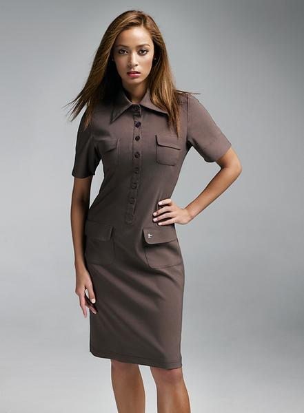 Felicity Shirtdress. Chi Uniforms. $97.