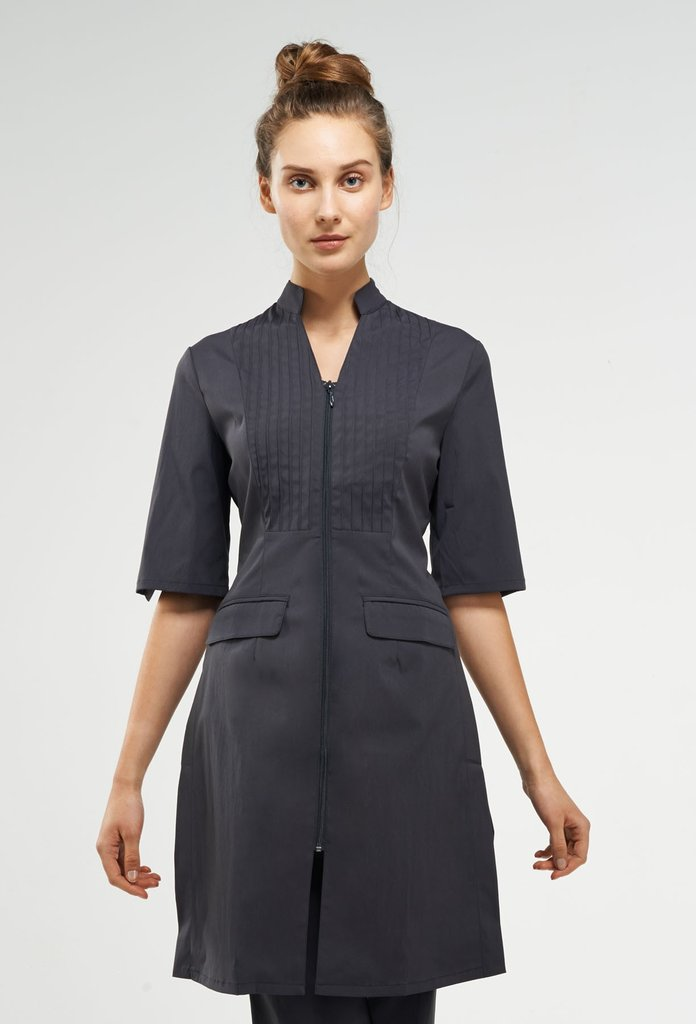 MODERNA. Available in charcoal, black, white. Noel Asmar Uniforms. Was: $80 Now: $48.