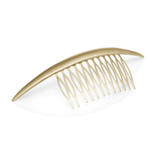 Smooth Crescent Hair Comb. Available in rose gold, gold. Chloe + Isabel. $28.