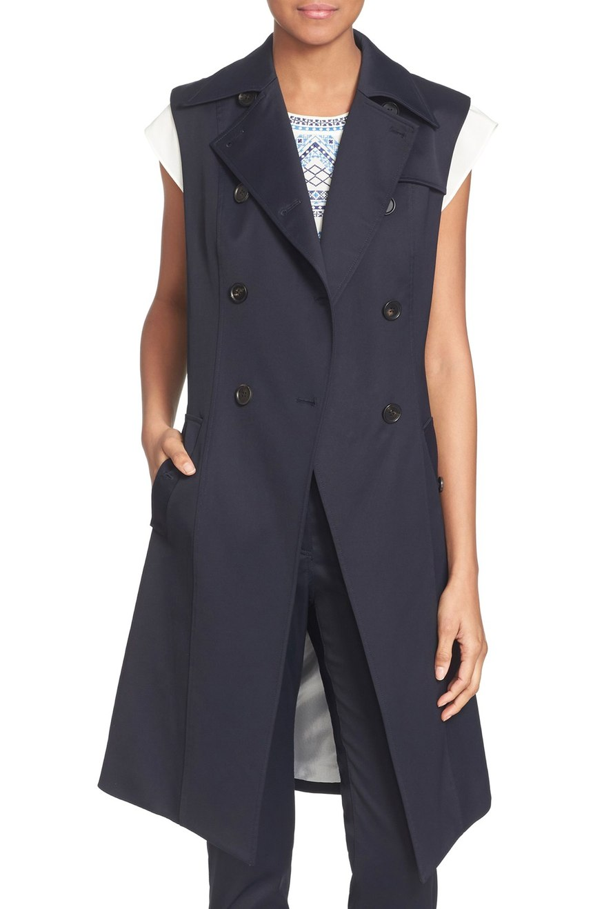 Veronica Beard  'Socal Trench' Vest. Nordstrom. $495.