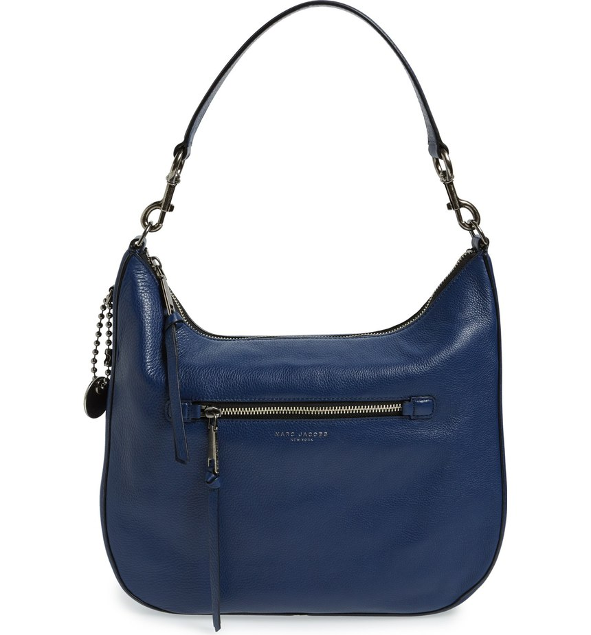 MARC JACOBS  'Recruit' Leather Hobo. Available in multiple colors. Nordstrom. $495.