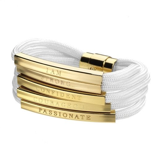 I AM bracelet. Available in multiple colors. Stella Valle. $69.