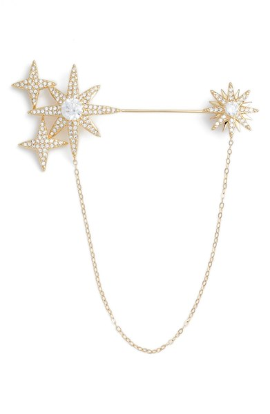 Nadri Stardust Cubic Zirconia Brooch. Available in three metals. Nordstrom. $75.