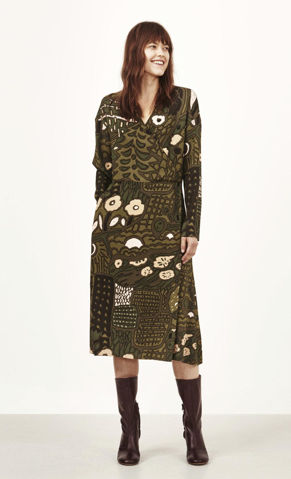 Velda dress. Marimekko. $425.