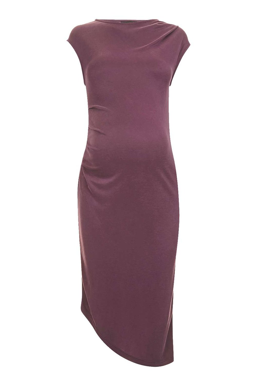 Topshop Maternity Cupro Drape Midi Dress. Topshop. $55.