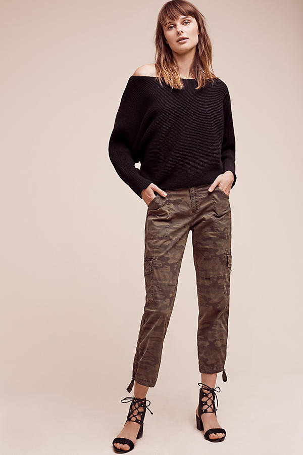 Tied Camo Crops. Anthropologie. $118.