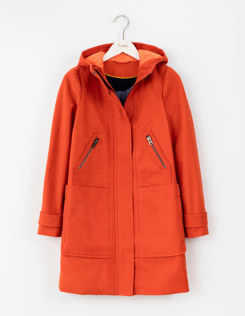 MOLESKIN DUFFLE COAT. Available in multiple colors. Boden. $198.