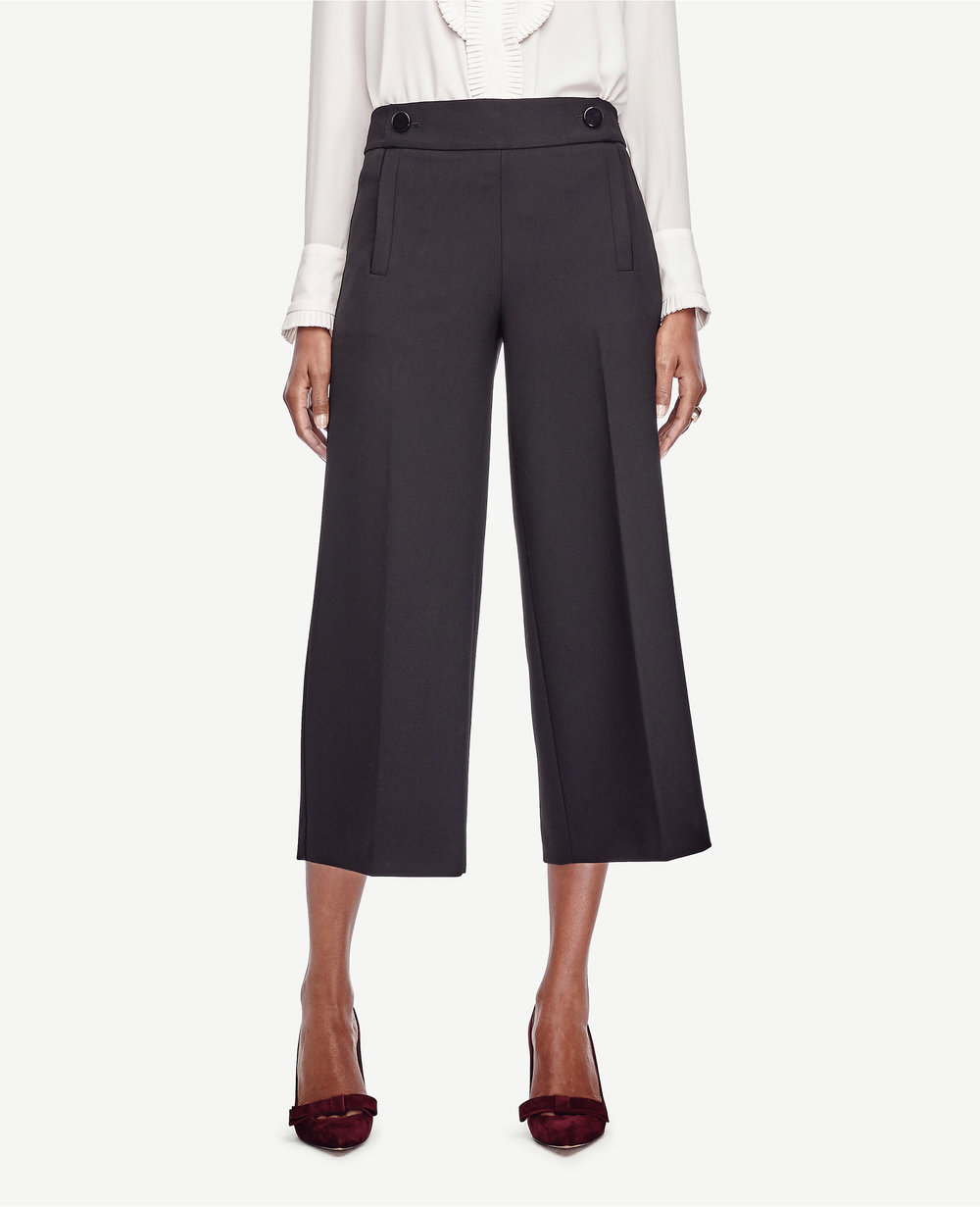 Mariner Wide Leg Crop Pants. Ann Taylor. $98.