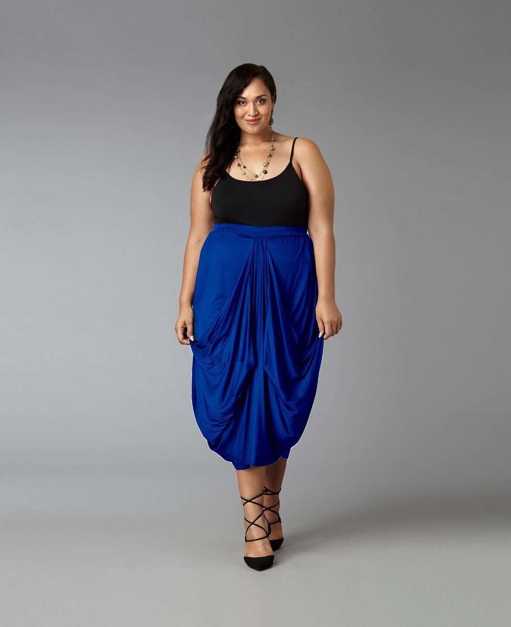 Drape Maxi Skirt. Yona New York. $129.