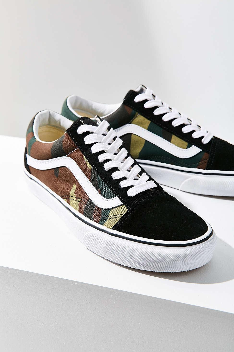 Vans X UO Camo Old Skool Sneaker. Urban Outfitters. $60.