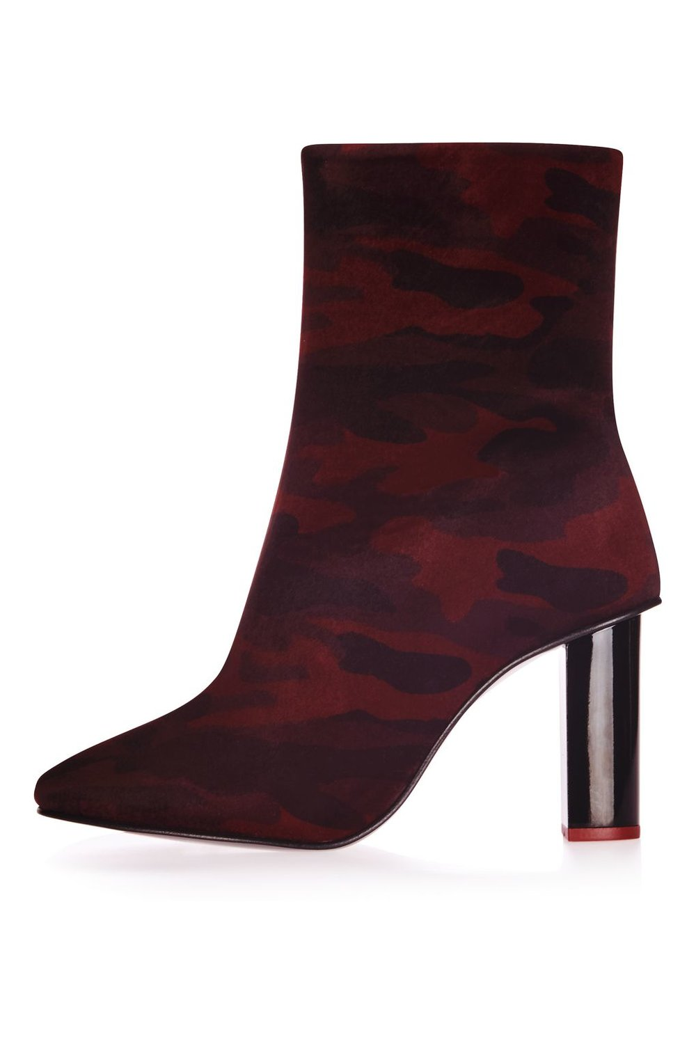 Matchstick Camo Boot. Available in red, grey. Topshop. $160.