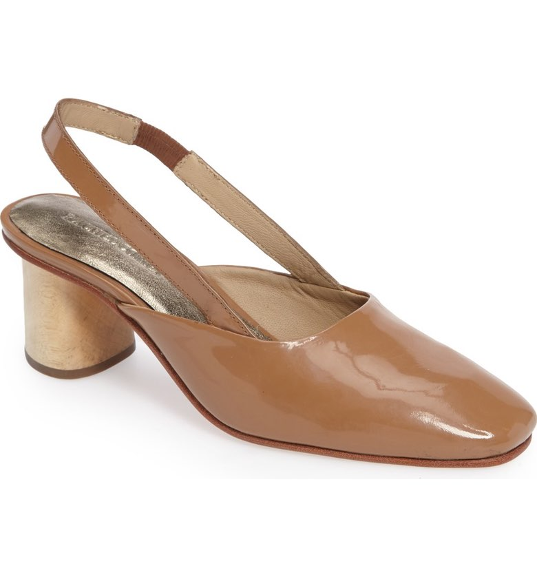 Ray Square Toe Slingback Pump. Nordstrom. $391.