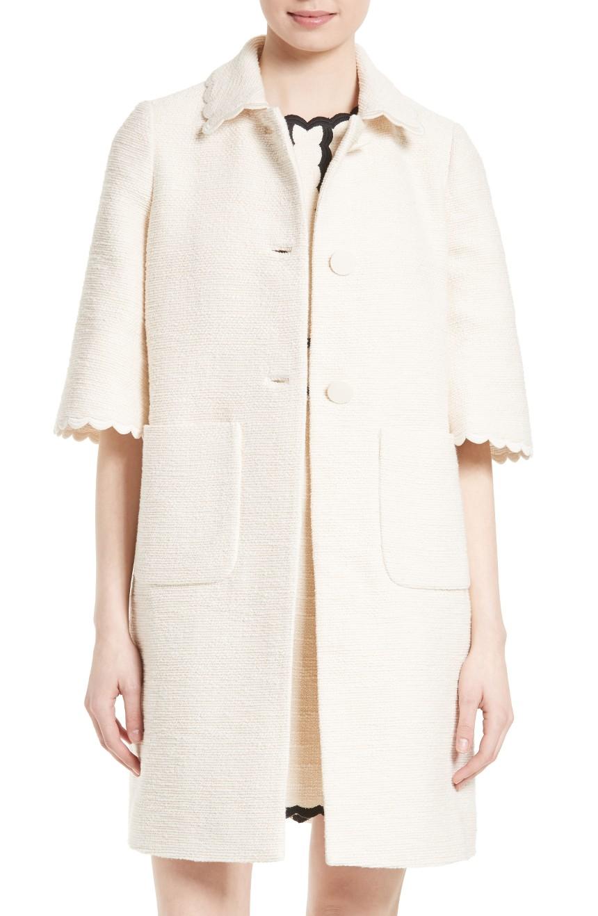 textured tweed coat  KATE SPADE NEW YORK . Nordstrom. Was: $698. Now: $418.