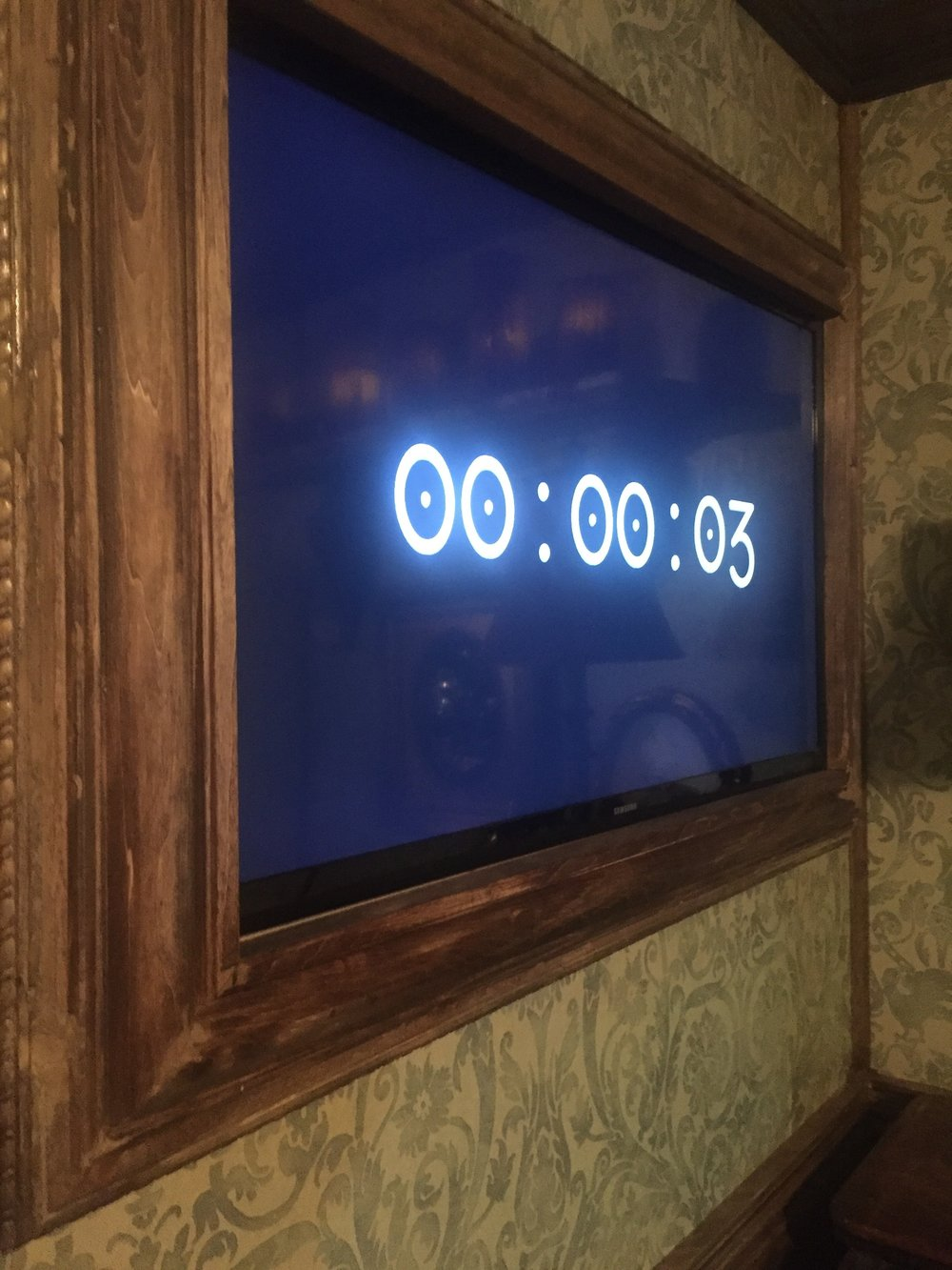 The countdown clock keeps you motivated.