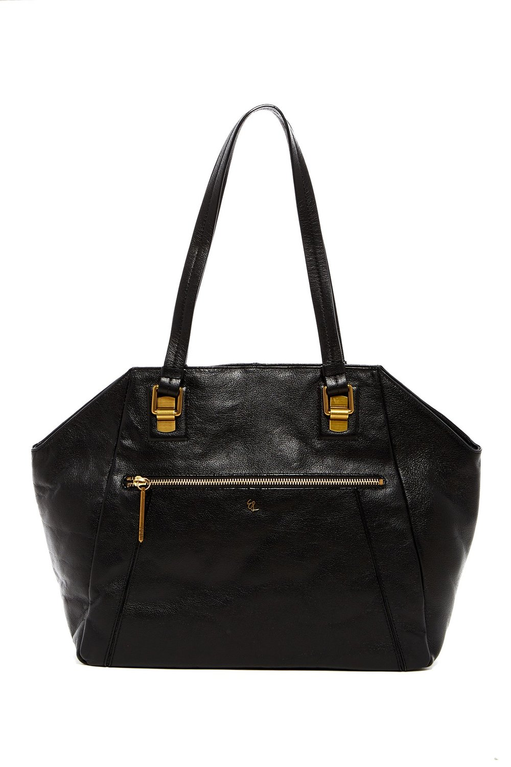 Elliott LuccaFaro Leather Shoulder Tote. Available in brown, black. Nordstrom Rack. Was: $198. Now: $99.