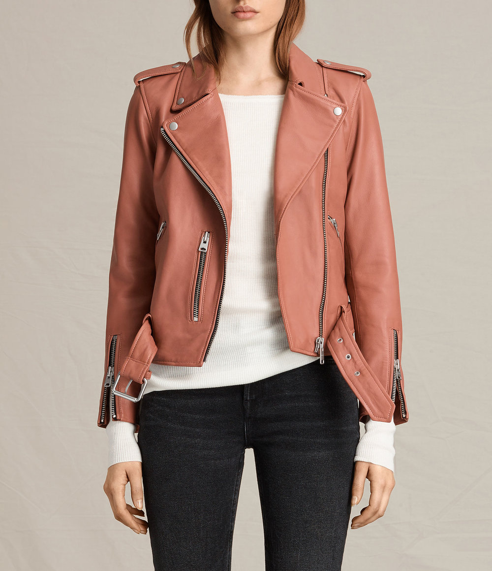 BALFERN LEATHER BIKER JACKET. All Saints. Was: $560 Now: $392.
