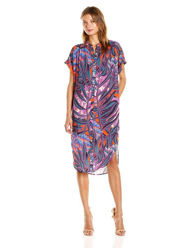 Mara Hoffman Herbarium Button Shirt Dress. Amazon. $330.