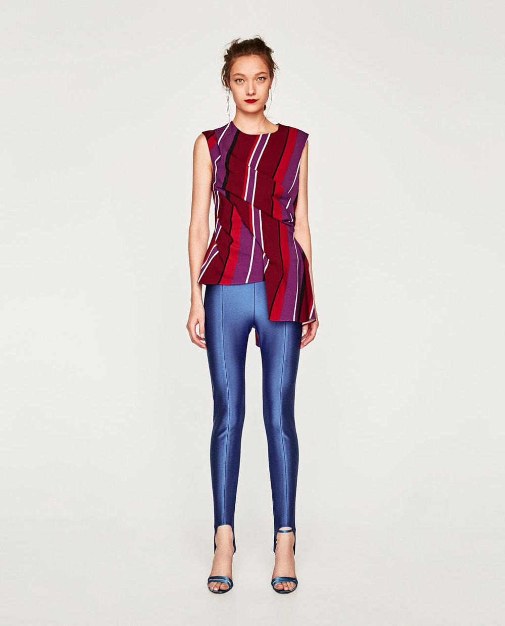 Stirrups!FUSEAU LEGGINGS. Zara. $69.
