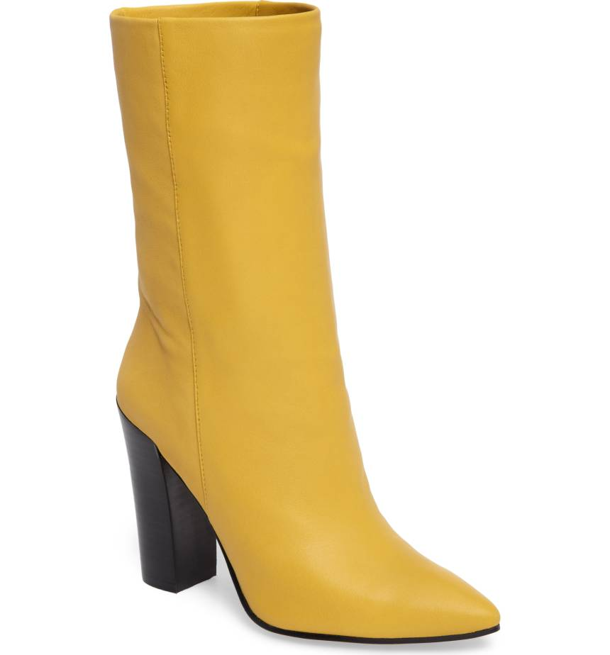Dolce Vita Ethan Pointy Toe Bootie. Available in multiple colors. Nordstrom. $285.