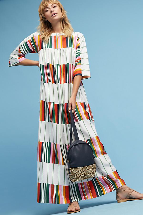 Marimekko Frequency Maxi Dress. Anthropologie. $398.