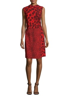 Akris Animal Print Shift Dress. Saks Off 5th. Was: $2990. Now: $569.