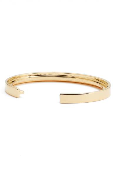 Stella Valle Initial Cuff. Available in multiple metals. Nordstrom. $49.