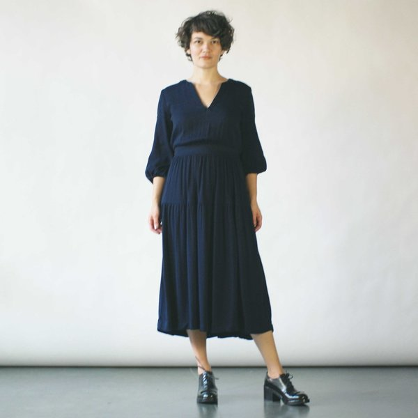 CURATOR SPRUCE DRESS. Velouria or Garmentory. Was: $158. Now: $110.