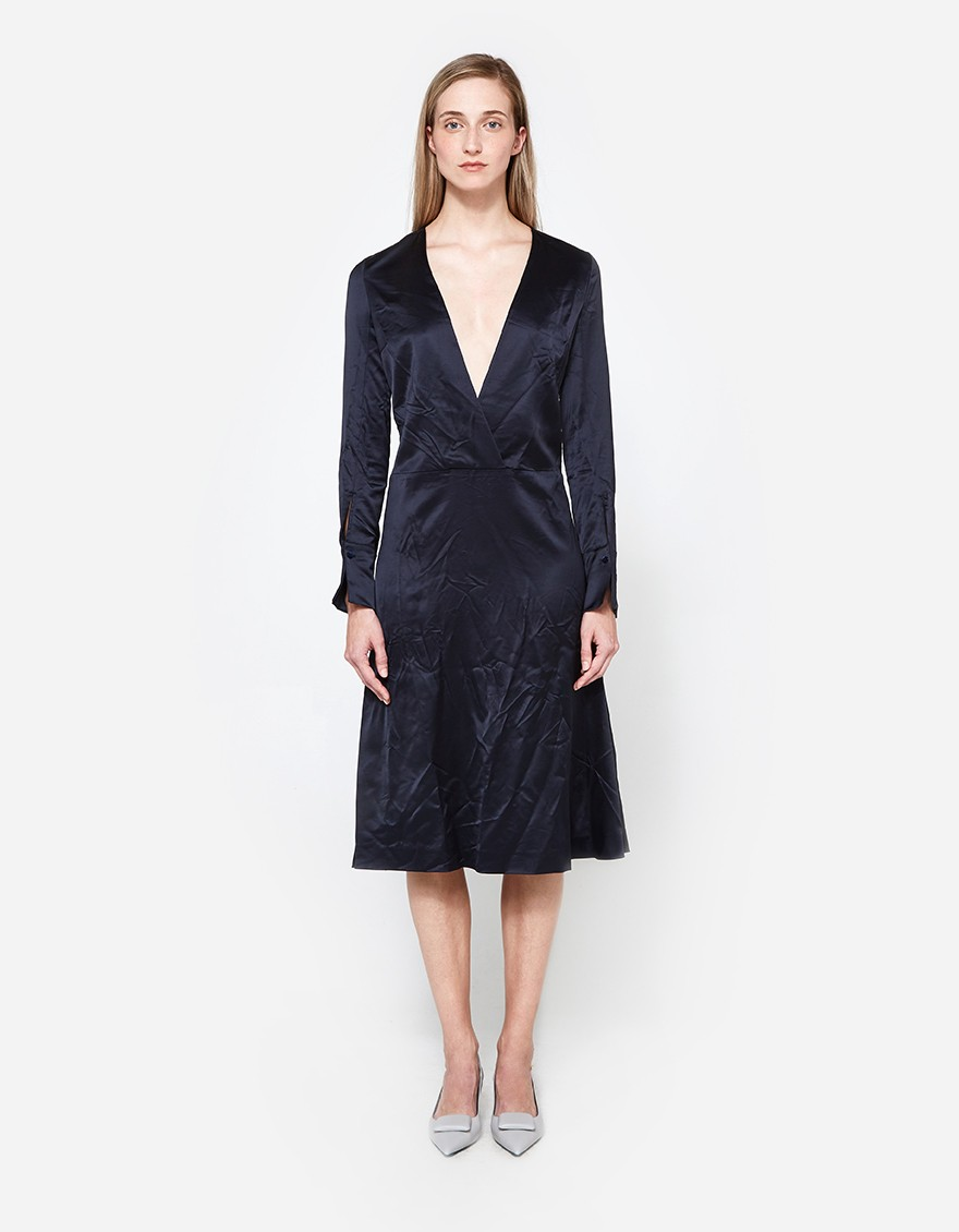 Maison Margiela Deep V Dress. Need Supply. Was: $1405. Now: $840.