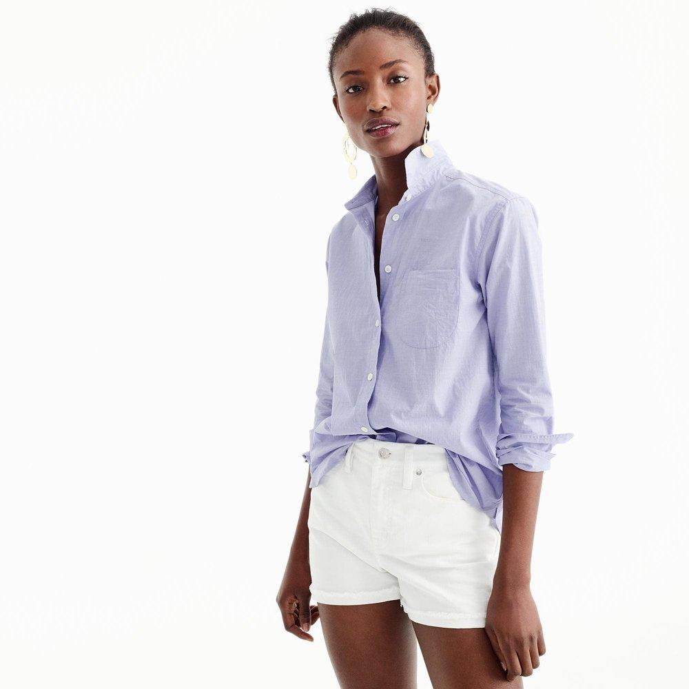Boyfriend button-up shirt. J.Crew. $79.