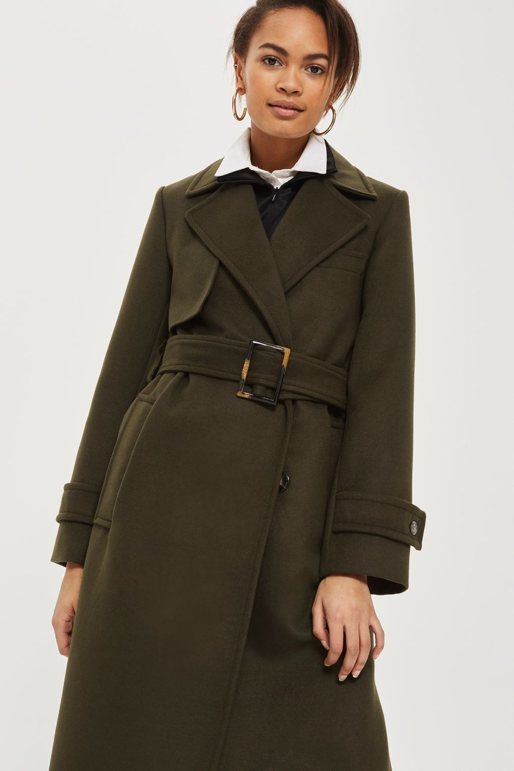 Melton Trench Coat. Topshop. $230.