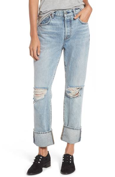 7 For All Mankind Rickie High Waist Boyfriend Jeans. Nordstrom. $249.