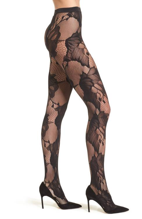 Wolford Pat Floral Lace Tights. Nordstrom. $67.