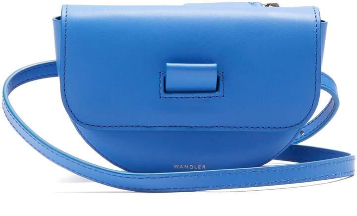 WANDLER Anna Leather Belt Bag. Matches Fashion. $360.