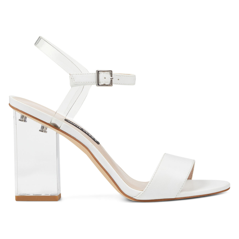 Fiesty Ankle Strap Sandals. Available in white, black. Nine West. Was: $99. Extra 30% off.