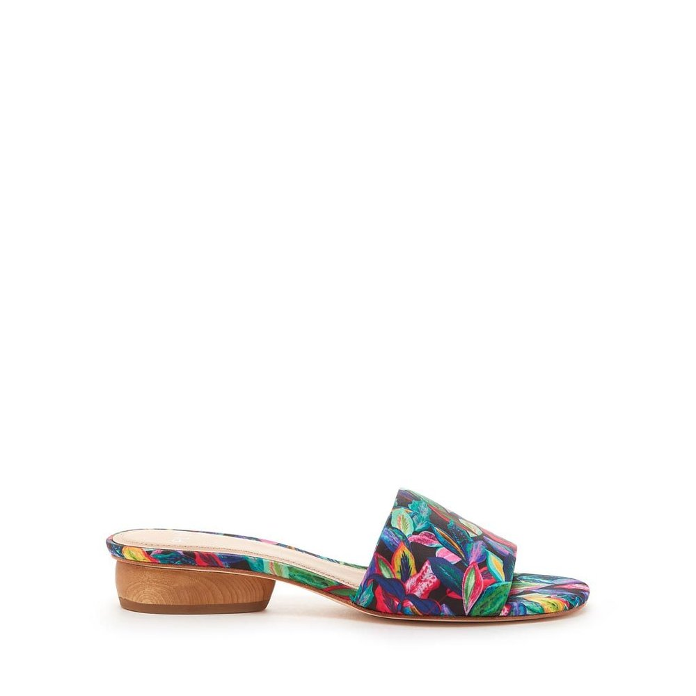 Think of PLV for flats, boots, slides and shoes with a little extra something. POUR LA VICTOIRE®MALLORY. Available in silk tropical, black, azalea. PLV. $165. Additional 30% off with code: PLVMEMORIAL18.