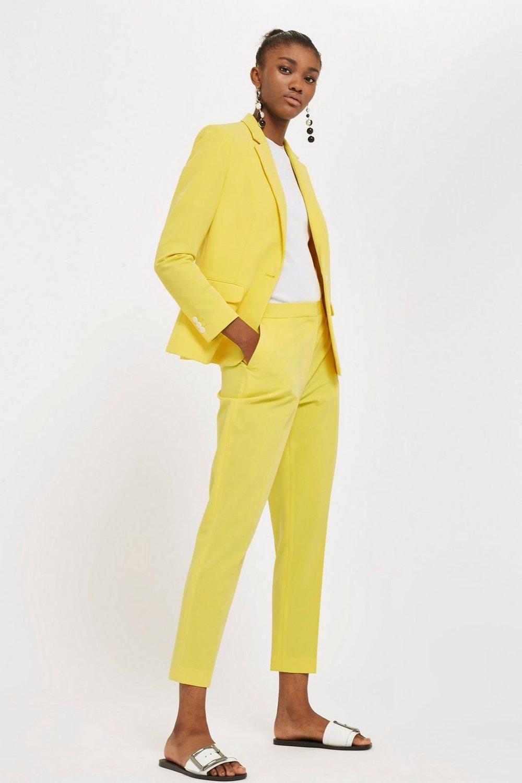 Topshop Suit Jacket. $95. Suit Trousers. $58. Topshop.