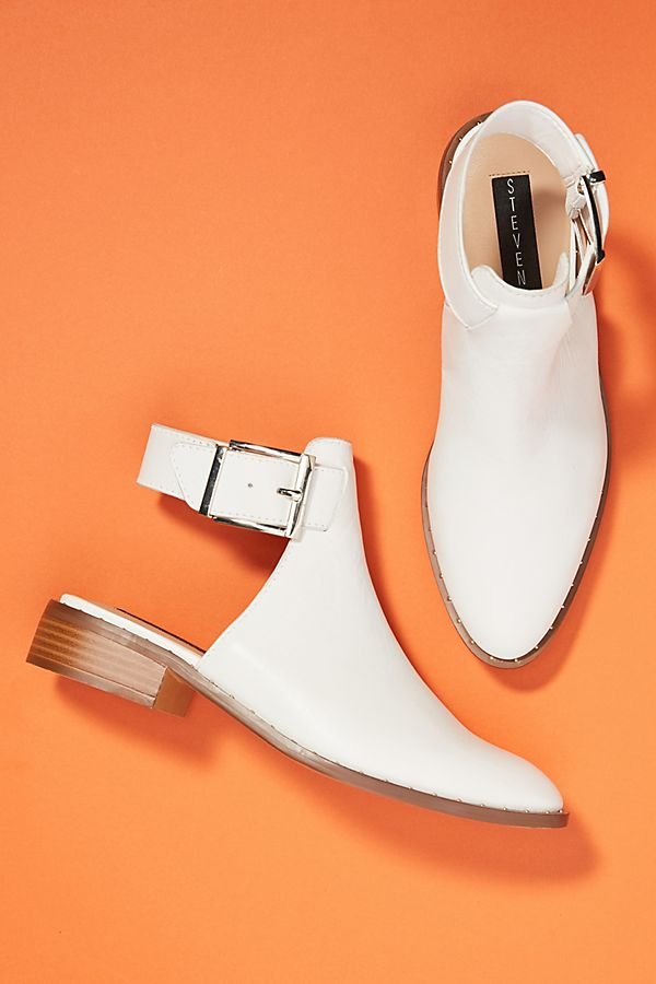 Steve by Steve Madden Buckle Shooties. Available in multiple colors. Anthro. $138.