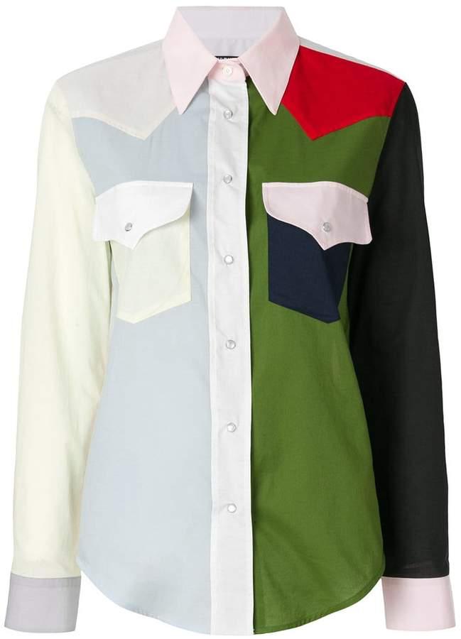 Calvin Klein colour-block western shirt. FarFetch. Was: $782. Now: $289.