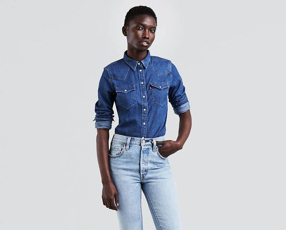 Levi's Tailored Western Shirt. Levi's. Was: $64. Now: $49.