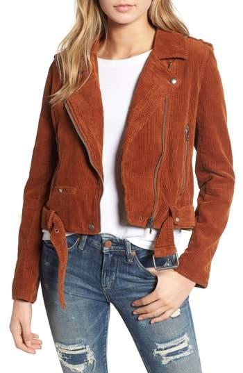 BLANKNYC Corduroy Moto Jacket. Nordstrom. $98.