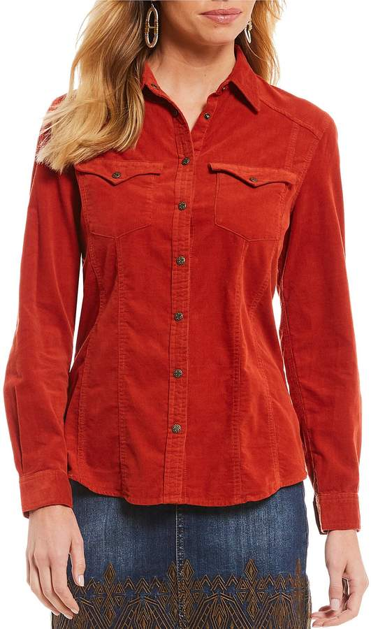 Reba Corduroy Shirt. Dillards. $88.